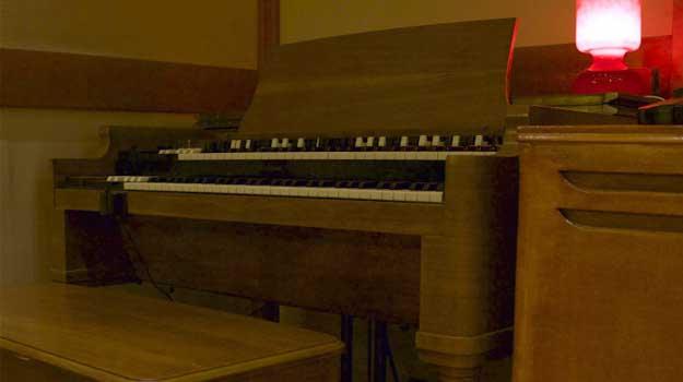 Organo Hammond B3 con Leslie (1949) - Nuccia