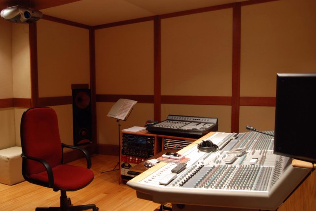 02 - DIRECTOR RECOVERY - Recording room - Nuccia Studio - Roma - Prati