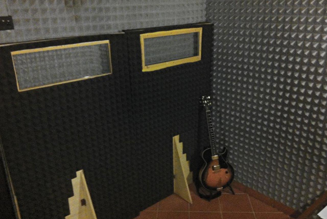04 - BOX RECOVERY - Guitar recording - Recording room - Nuccia Studio - Roma - Prati