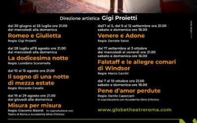 Globe Theatre – Misura per Misura
